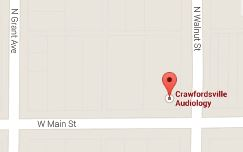 crawfordsville audiology location